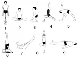 postures asana